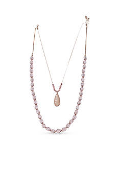 Jules B Gold-Tone Bubble Bath Layered Necklace