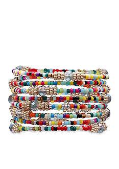 Jules B Gold-Tone True Colors Coil Bracelet