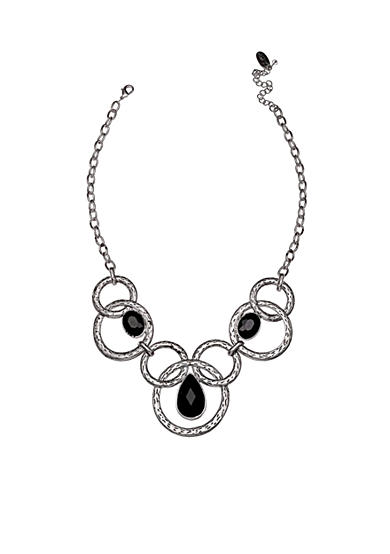 Jules B Silver-Tone Statement Necklace