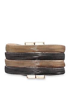 Jules B Two-Tone Snake Charmer Multi Strand Bracelet