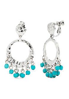 Kim Rogers Brea Gypsy Hoop Clip Earrings