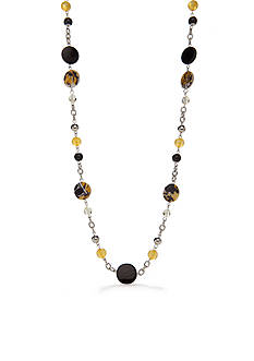 Kim Rogers Silver-Tone Sunny Days Long Necklace