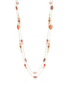 Kim Rogers Gold-Tone High Seas Illusion Necklace