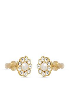kate spade new york Park Avenue Pearl Stud Earrings