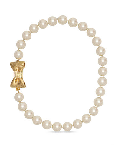 kate spade new york® All Wrapped Up Pearl Necklace