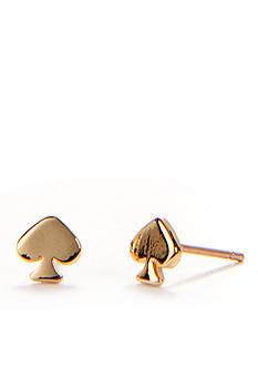 kate spade new york Signature Spade Mini Stud Earring