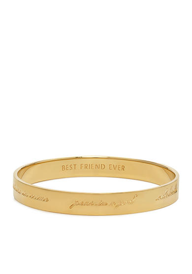kate spade new york® Bridesmaid Idiom Bangle Bracelet