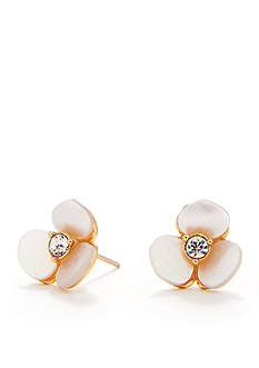 kate spade new york® Disco Pansy Stud Earrings