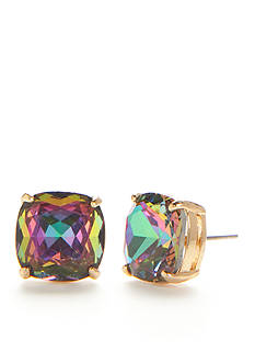 kate spade new york 14K Gold-Plated Small Square Stud Earrings