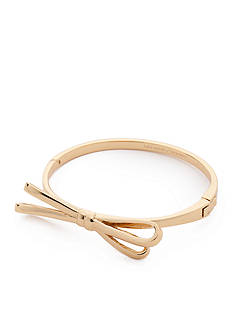kate spade new york 14K Gold-Plated Tied Up Hinge Bangle Bracelet
