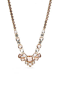kate spade new york Make Me Blush Mini Statement Necklace