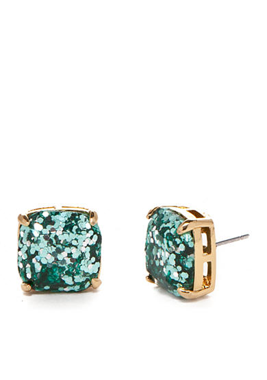 kate spade new york® Gold-Tone Small Square Stud Earrings