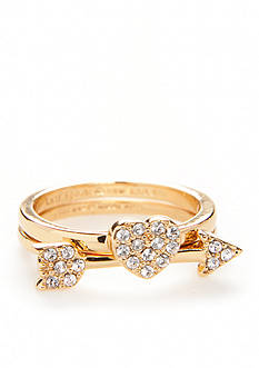 kate spade new york Heart and Arrow Stackable Rings