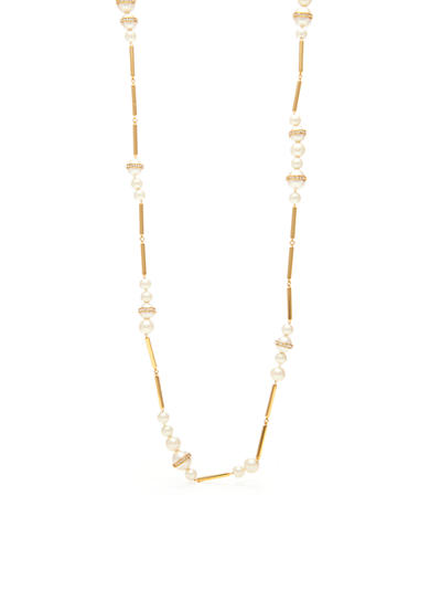 kate spade new york® Purely Pearly Long Necklace