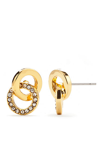 kate spade new york® Gold-Tone Stud Earrings