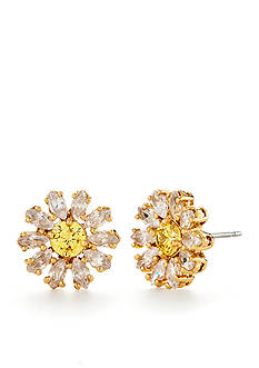 kate spade new york® Gold-Tone Crystal Bouquet Stud Earrings