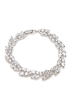 kate spade new york Silver-Tone Crystal Ivy Victorian Lace Bracelet