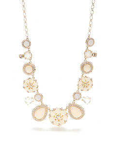 kate spade new york® Gold-Tone At First Blush Statement Necklace