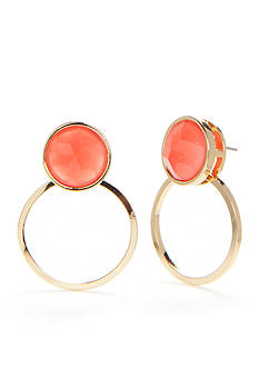 kate spade new york Gold-Tone Sun Kissed Sparkle Drop Earrings