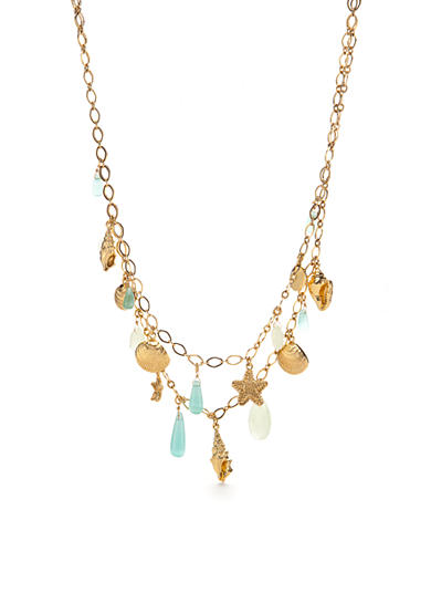 kate spade new york® Gold-Tone Under the Sea Multistrand Necklace