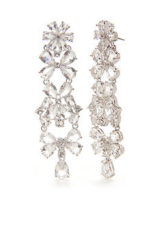 kate spade new york® Silver-Tone Be Adorned Chandelier Earrings