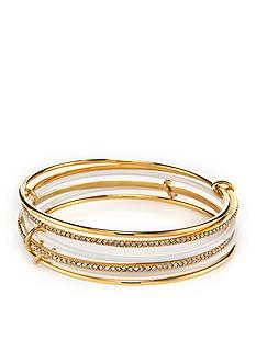 kate spade new york Gold-Tone Stack Attack Bangle Bracelet
