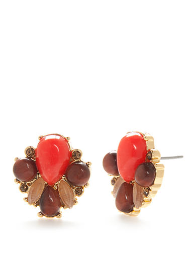 kate spade new york® Gold-Tone Burst Into Bloom Cluster Stud Earrings