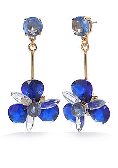 kate spade new york Blooming Brilliant Gold-Tone Drop Earrings