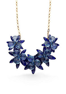 kate spade new york Gold-Tone Blooming Brilliant Statement Necklace