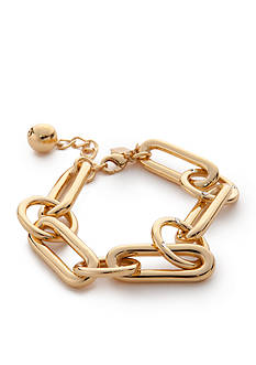 kate spade new york® Goldie Links Gold-Tone Bracelet