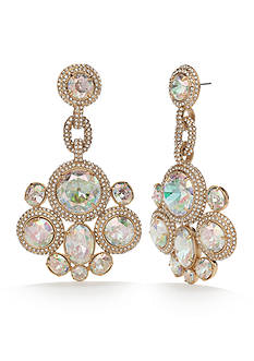 kate spade new york Gold-Plated Absolute Sparkle Statement Earrings