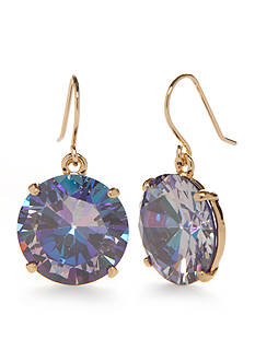 kate spade new york 14k Gold-Plated Shine On French Wire Drop Earrings