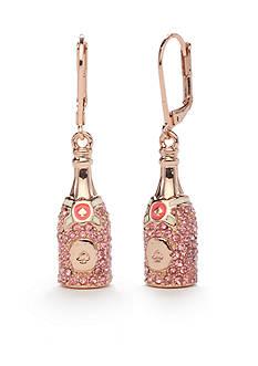 kate spade new york Rose Gold-Tone Make Magic Champagne Drop Earrings
