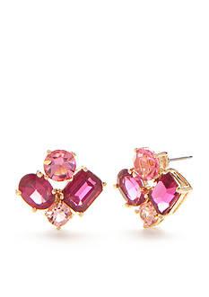 kate spade new york 14K Gold-Plated Vegas Jewels Cluster Stud Earrings