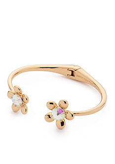 kate spade new york Gold-Tone Sunset Blooms Cuff Bracelet