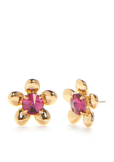 kate spade new york® Gold-Tone Sunset Blooms Stud Earrings
