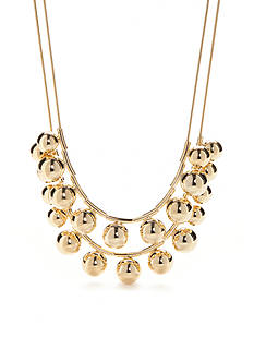kate spade new york® 12K Gold-Plated Double Strand Necklace