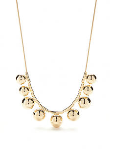 kate spade new york 12K Gold-Plated Ring It Up Collar Necklace