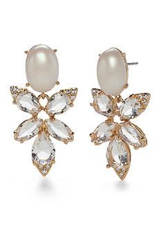 kate spade new york Gold-Tone Blushing Blooms Drop Earrings