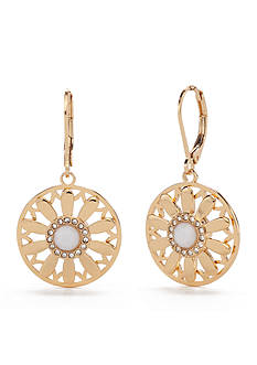 kate spade new york Golden Garden Lever Back Earrings