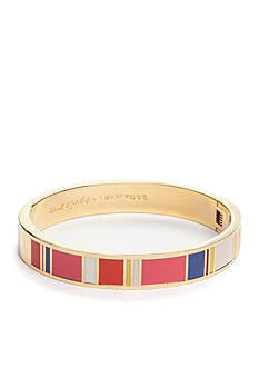 kate spade new york Gold-Tone Idiom Bangle Bracelet