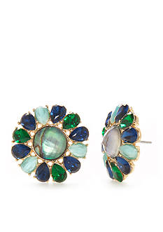 kate spade new york® Peacock Way Studs