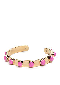kate spade new york® Gold-Tone Tag Along Cuff Bracelet
