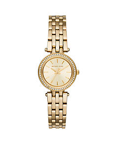 Michael Kors Women's Gold-Tone Petite Darci Watch