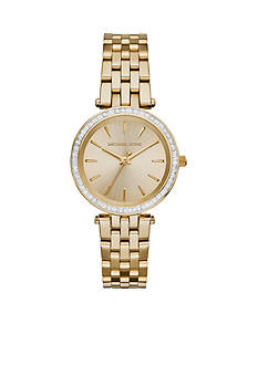 Michael Kors Gold-Tone Mini Darci Watch