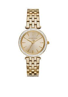 Michael Kors Gold-Tone Mini Darci Watch
