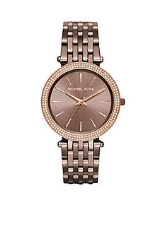 Michael Kors Women's Rose Gold-Tone Darci Watch