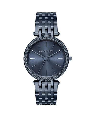 Michael Kors Women's Darci Blue IP Watch