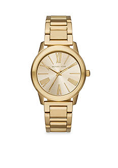 Michael Kors Women's Hartman Gold-Tone Watch
