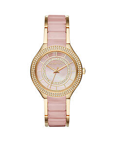 Michael Kors Women's Kerry Two-Tone Watch